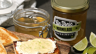 How to make a gin & tonic marmalade spread - Video