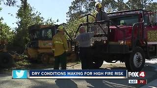 Southwest Florida is at a high risk for fires - Video