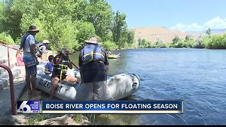 Boise River opens for floating season - Video