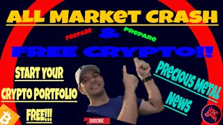 Start Your FREE Crypto Portfolio! Prepare for ALL Market Crash!