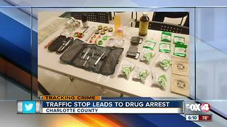 Deputies find drugs during a traffic stop - Video