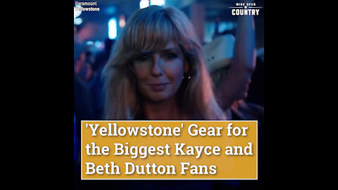 'Yellowstone' Gear for the Biggest Kayce and Beth Dutton Fans