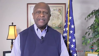 Watch: Herman Cain Posts Video with Great News