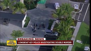 Police investigating double homicide at Longboat Key resort - Video