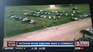 Drive-in movie theaters making a comeback