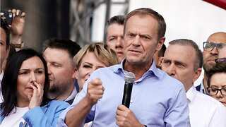 European Council President Donald Tusk said 'Europe is a woman'