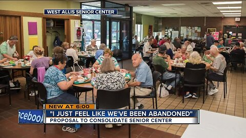 'I just feel like we've been abandoned': Proposal to consolidate West Allis Senior Center under fire