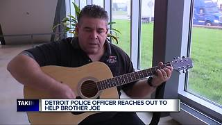 Detroit police officer reaches out to help Brother Joe