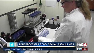FDLE processes 8,000+ sexual assault kits
