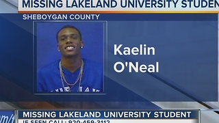 Officials Search for Missing Lakeland University Student