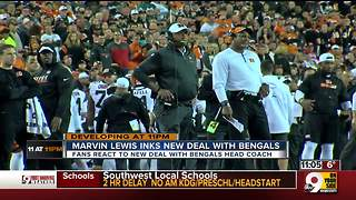 Marvin Lewis inks new deal with Bengals