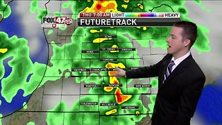Dustin's Forecast 8-16 - Video