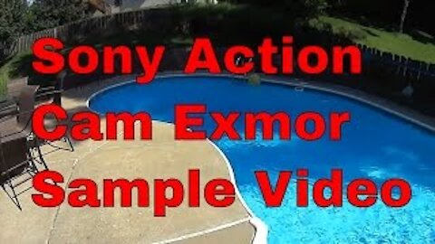 Sony Action Cam Exmor Sample Footage, 1080, 120 Stabilize vs 170