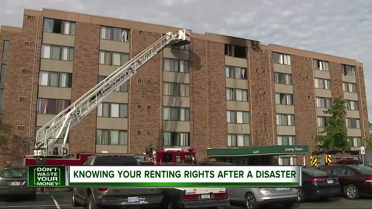 Knowing your renting rights after a disaster