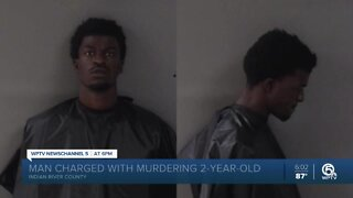 Indian River County man charged with killing girlfriend's 2-year-old daughter