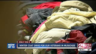 Winter coat drive helping veterans in Muskogee - Video
