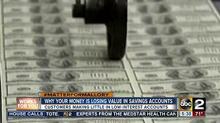 Why your money is losing value in a savings account - Video