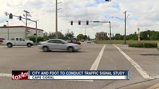 Cape Coral to conduct more traffic signal studies
