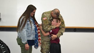 Soldier Returns After 10 Months Away To Shock Tearful Son At Taekwondo Lesson - Video