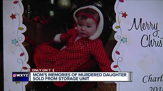 Mom's memories of murdered daughter sold from storage unit - Video