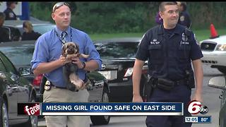 Missing 3-year-old found safe - Video