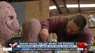 Local man turns mask making into a career - Video