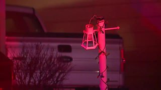 Car crashes into Parma home after driver ran through stop sign, leaving behind a large hole - Video