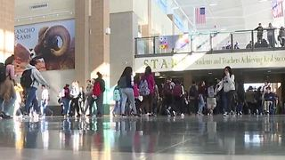 CCSD Police arrest teen for school shooting threat - Video