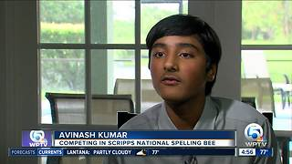 Palm City 8th grade student ready for Scripps National Spelling Bee