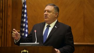 Pompeo Lays Out Trump Administration's Middle East Policy