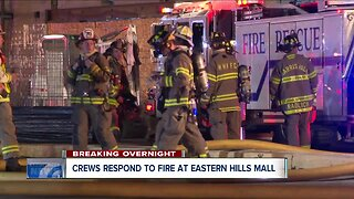 Crews respond to fire at Eastern Hills Mall