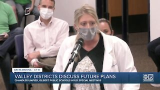 Valley districts discuss future plans