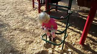 Tot Girl Fails In Being Careful - Video