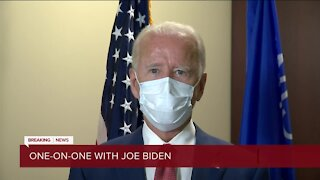Biden discusses meeting with Blake family