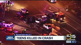 Two teens killed in rollover crash in Fountain Hills