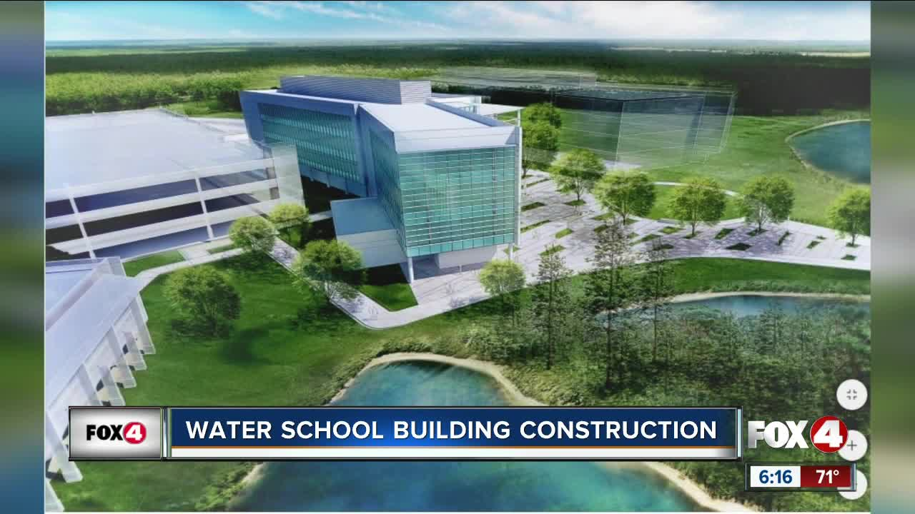 FGCU to break ground on new Water School building Thursday