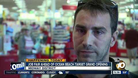 Target job fair for Ocean Beach store
