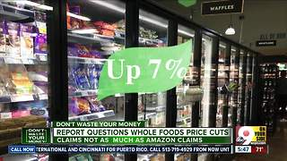 Report questions Whole Foods price cuts - Video