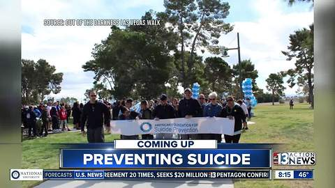 Out of the Darkness Community Walk raises attention on suicide prevention