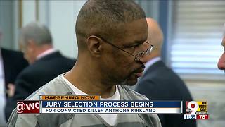 Anthony Kirkland jury selection begins - Video