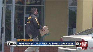 Nationwide Bust: Feds raid medical supply companies