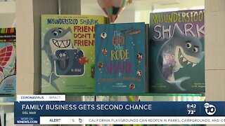 Family owned business gets second chance in Del Mar Plaza