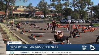 Heat impacts fitness centers' outdoor workouts