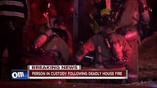 One person arrested, one dead after Buffalo house fire