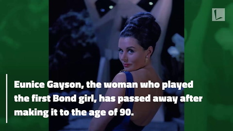 First Bond Girl Passes Away at Age 90. Helped Calm Sean Connery To Deliver Infamous Line