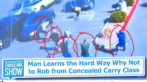 Man Learns the Hard Way Why Not to Rob from Concealed Carry Class