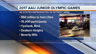 2017 AAU Junior Olympic Games this week - Video