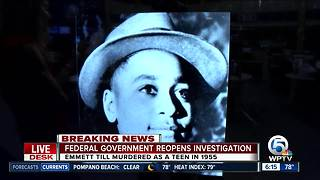 Government reopens probe of Emmett Till slaying - Video