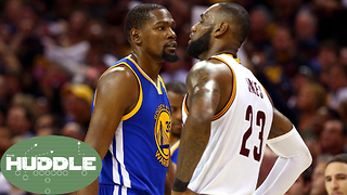 Kevin Durant Thinks He's BETTER Than LeBron James?! -The Huddle - Video