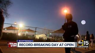 Record breaking day at Phoenix Open - Video